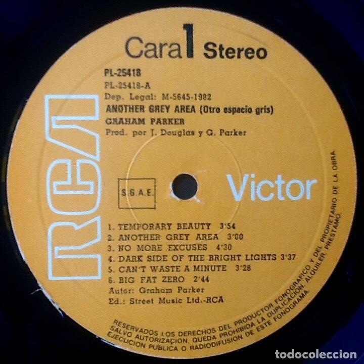 Discos de vinilo: GRAHAM PARKER : ANOTHER GREY AREA [ESP 1982] - Foto 3 - 92842675