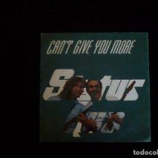 Discos de vinilo: STATUS QUO CAN'T GIVE YOU MORE. Lote 92843050