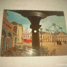 Discos de vinilo: POSTAL EXPO 58 BRUXELLES, BELGICA- DISCO POTPOURRI AIRS FOLKORIQUES. Lote 92845060