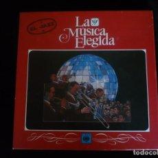 Discos de vinilo: LA MUSICA ELEGIDA EL JAZZ, CONTINE 4 DISCOS MAS LIBRO, COMO NUEVO. Lote 92845170