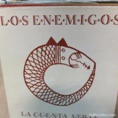 Discos de vinilo: LOS ENEMIGOS -LA CUENTA ATRAS -LP. Lote 92846315