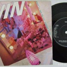 Discos de vinilo: WIN - WHAT'LL YOU DO TILL SUNDAY BABY - SINGLE - VIRGIN 1988 UK. Lote 92849480