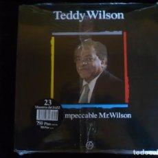 Discos de vinilo: TEDDY WILSON THE IMPECCABLE MR. WILSON - NUEVO PRECINTADO. Lote 92855875
