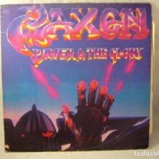 Discos de vinilo: SAXON ---- POWER & THE GLORY. Lote 92878600
