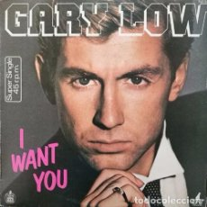 Discos de vinilo: GARY LOW - I WANT YOU - MAXI SINGLE DE VINILO - ITALO DISCO EUROBEAT. Lote 92889465