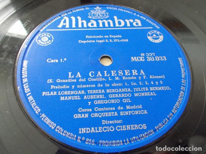 Discos de vinilo: LA CALESERA. - Foto 3 - 92891485
