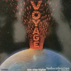 Discos de vinilo: VOYAGE - ONE STEP HIGHER - LP RARO DE VINILO EDICION ESPAÑOLA - ELECTRONIC DISCO FUNK. Lote 92899815
