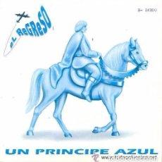 Discos de vinilo: EL REGRESO - UN PRINCIPE AZUL - SINGLE PROMOCIONAL ESPAÑOL DE 1992 + DOCUMENTO. Lote 92905555