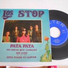 Discos de vinilo: LOS STOP-EP PATA PATA +3. Lote 92917685