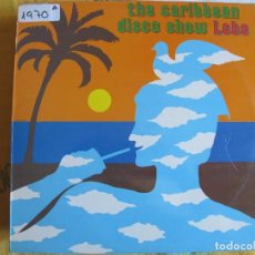 Discos de vinilo: LP - LOBO - THE CARIBBEAN DISCO SHOW (SPAIN, MERCURY RECORDS 1981). Lote 92928195