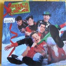 Discos de vinilo: LP - NEW KIDS ON THE BLOCK - MERRY MERRY CHRISTMAS (SPAIN, CBS 1990). Lote 92930090