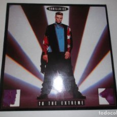 Discos de vinilo: VANILLA ICE TO THE EXTREME HISPAVOX 1990. Lote 92935415