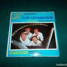 Discos de vinilo: LOS CHIMBEROS EP 4 TEMAS. ZAFIRO 1966. Lote 92936605