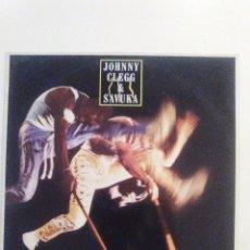 Discos de vinilo: JOHNNY CLEGG & SAVUKA SHADOW MAN ( 1988 EMI ESPAÑA ) CARPETA Y VINILO EXCELENTE ESTADO. Lote 92952000