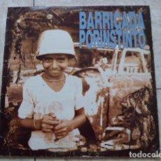 Discos de vinilo: BARRICADA. POR INSTINTO. 1991. POLYGRAM IBERICA. CON ENCARTE.. Lote 92976880