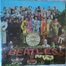 Discos de vinilo: THE BEATLES - SGT. PEPPERS LONELY HEARTS CLUB BAND - EDICIÓN 1976 ESPAÑA - VINILO AMARILLO OSCURO. Lote 92980310