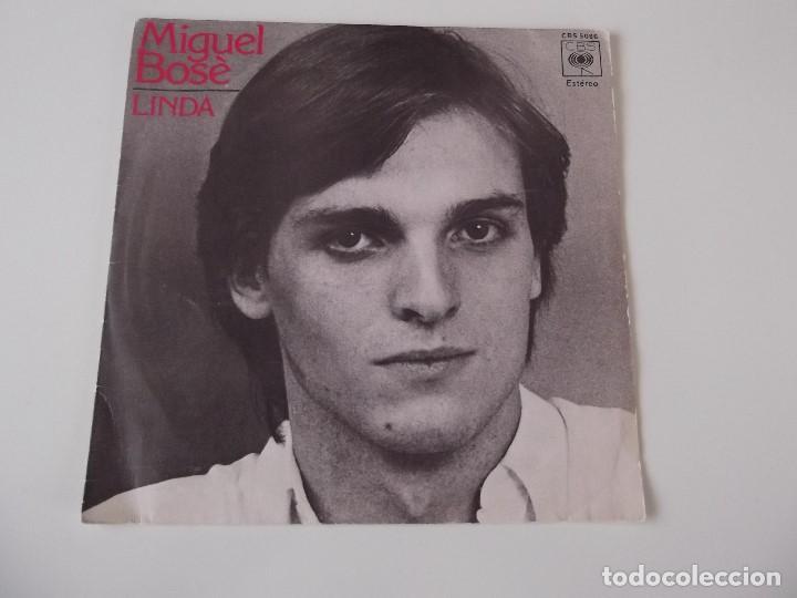MIGUEL BOSE - LINDA (Música - Discos - Singles Vinilo - Solistas Españoles de los 70 a la actualidad)