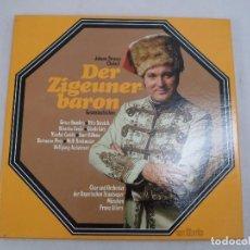Discos de vinilo: DER ZIGEUNERBARON (EL BARON GITANO) JOHANN STRAUSS (HIJO) ESTUCHE CON 2 LP´S. Lote 92994480