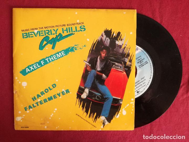 BEVERLY HILLS COP - HAROLD FALTERMEYER, AXEL F THEME (WEA) SINGLE PROMOCIONAL ESPAÑA (Música - Discos - Singles Vinilo - Bandas Sonoras y Actores)