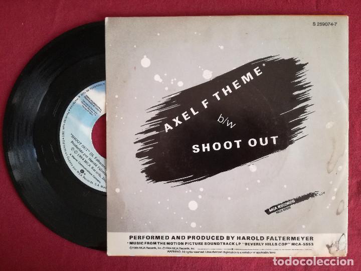 Discos de vinilo: BEVERLY HILLS COP - HAROLD FALTERMEYER, AXEL F THEME (WEA) SINGLE PROMOCIONAL ESPAÑA - Foto 2 - 93002505