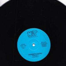 Discos de vinilo: ELISABETH CASTRO - ADIOS AMOR - AHORA SIN TI - NIT - VILAFRANCA PENEDES. Lote 93005270