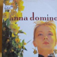 Discos de vinilo: LP - ANNA DOMINO - THIS TIME (SPAIN, GASA 1987). Lote 93016160