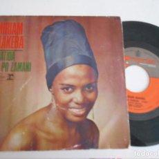 Discos de vinilo: SINGLE DE MIRIAM MAKEBA ABATIDA. Lote 93017530