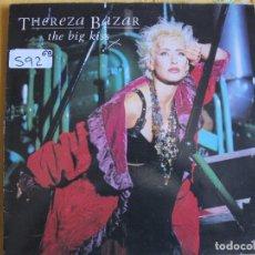 Discos de vinilo: LP - THEREZA BAZAR - THE BIG KISS (SPAIN, MCA RECORDS 1985). Lote 93018325