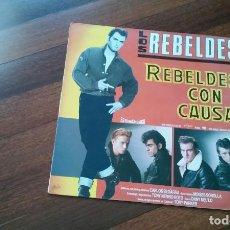 Discos de vinilo: LOS REBELDES-REBELDES CON CAUSA.LP. Lote 93022115
