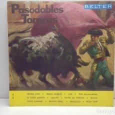 Discos de vinilo: LP PASODOBLES TOREROS: ESPAÑA CAÑI +11 - 1964 - BELTER. Lote 93045115