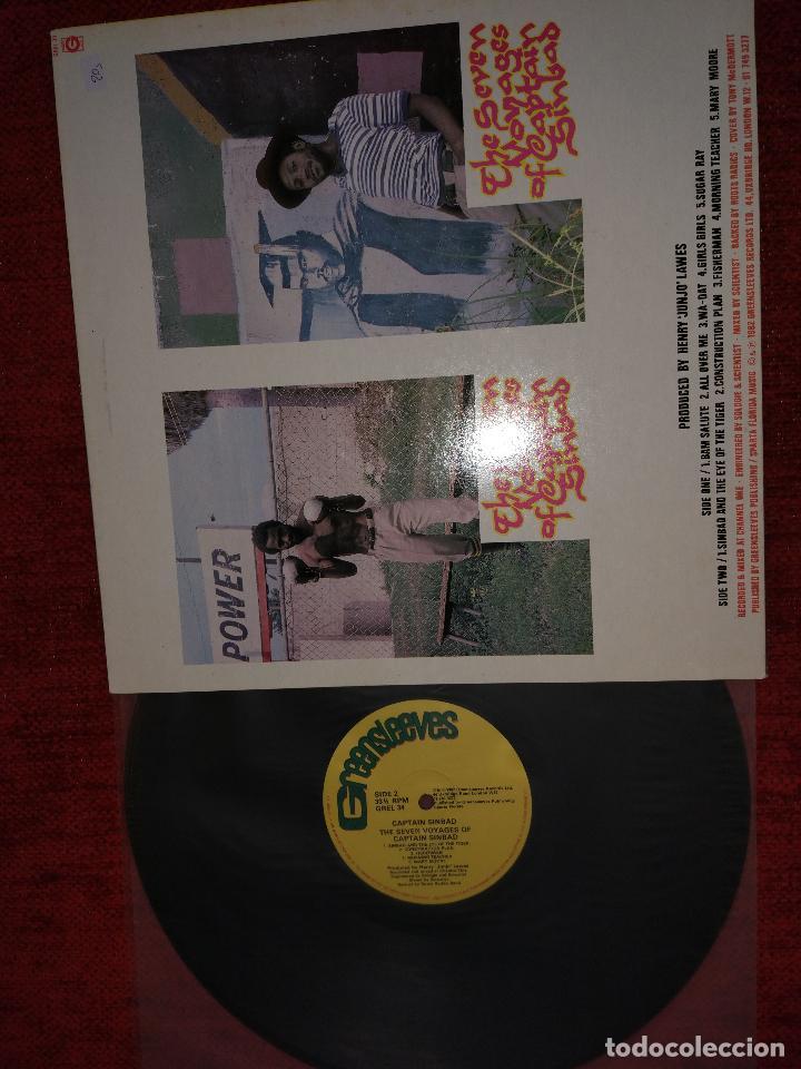 Discos de vinilo: THE SEVEN VOYAGES OF CAPTAIN SINBAD. Edicion inglesa. A estrenar - Foto 2 - 93056835