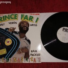 Discos de vinilo: PRINCE FAR I MEETING VEROS ARTISTA PROMO INGLÉS 1980.A ESTRENAR. Lote 93057485