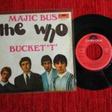 THE WHO . SG. Español Magic bus/ bucket T.