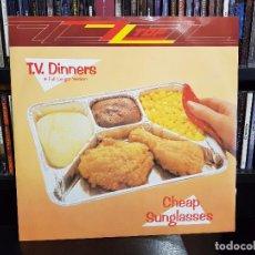 Discos de vinilo: ZZ TOP - T.V. DINNERS (FULL LENGHT VERSION) / CHEAP SUNGLASSES. Lote 93088835