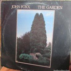 Discos de vinilo: JOHN FOXX - THE GARDEN - LP 1981 - PORTADA CON USO Y DESGASTE. Lote 93093575
