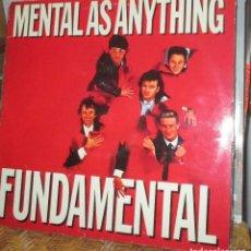 Discos de vinilo: MENTAL AS ANYTHING - LP 1985 - FUNDAMENTAL - NUEVO. Lote 93095080