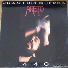 Discos de vinilo: DISCO VINILO JUAN LUIS GUERRA 440 - AREITO. Lote 93096215