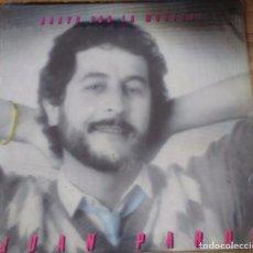Discos de vinilo: DISCO VINILO JUAN PARDO - BRAVO POR LA MUSICA. Lote 93096460