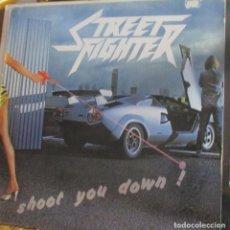 Discos de vinilo: STREET FIGHTER - SHOOT YOU DOWN - NUEVO - ACOJONANTE PORTADA DIGNA DE LA ACTUAL OLA DE SYNTH WAVE. Lote 93097735