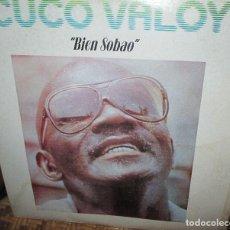 Discos de vinilo: CUCO VALOY - BIEN SOBAO - LP 1982 . Lote 93099300