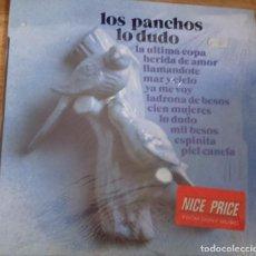Discos de vinilo: DISCO VINILO LOS PANCHOS - LO DUDO. Lote 93101010