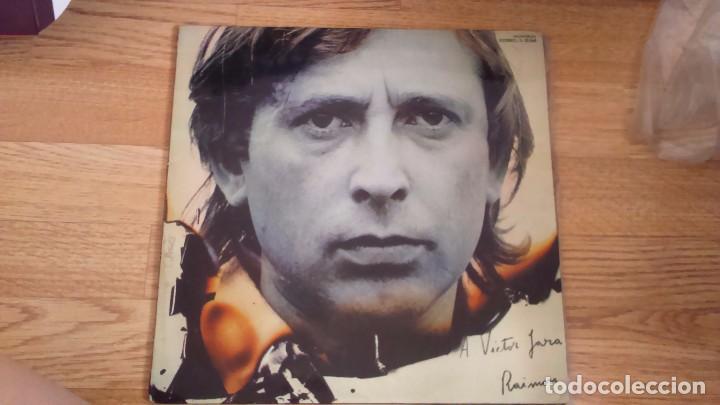 DISCO VINILO RAIMON - A VICTOR JARA (Música - Discos de Vinilo - Maxi Singles - Cantautores Españoles)