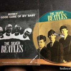 Discos de vinilo: THE BEATLES SILVER (MONEY / TAKE GOOD CARE OF MY BABY) SINGLE PICTURE DISC PROMO (EPI9). Lote 93116425