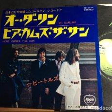 Discos de vinilo: THE BEATLES (OH DARLING / HERE COMES THE SUN) SINGLE JAPAN (EPI9). Lote 93117310