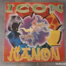 Discos de vinilo: ICON - KANON 12'' DISCO DE VINILO. Lote 93138265