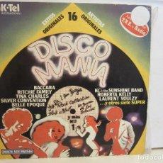 Vinyl records - Disco Mania - 16 Artistas Y Exitos Originales - 1978 - K-Tel - Spain - VG/VG - 93143865