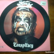 Discos de vinilo: KING DIAMOND - CONSPIRACY (PICTURE DISC). Lote 93159880