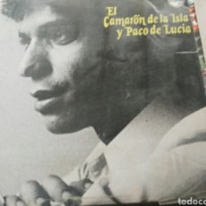 Discos de vinilo: CAMARÓN DE LA ISLA CON PACO DE LUCÍA, 2 MAXI SINGLES ORIGINALES. Lote 93160927