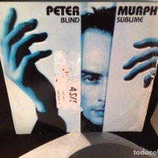 Discos de vinilo: PETER MURPHY ?– BLIND SUBLIME - ULTRA RARO EP 1988 USA. Lote 93166510