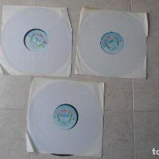 Discos de vinilo: LOTE 3 MAXI SINGLES PROMOCIONALES ITALO DISCO SELLO INSECT - MASS MEDIA - AMELIA + MOY - FRAGILE + M. Lote 93166875